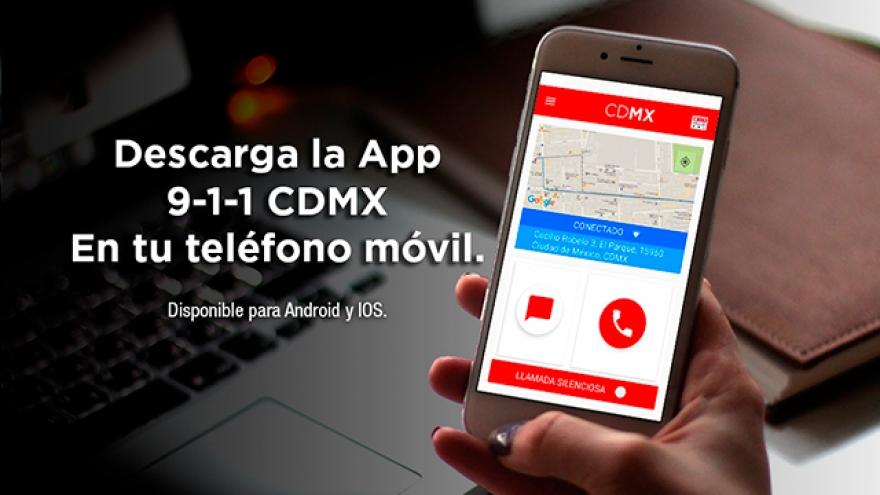 App 9-1-1 CDMX